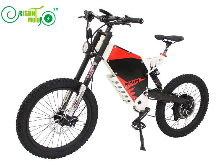 Xiaolong fighter / stealth bomber electric mountain bike frame / all terrain / soft tail / shock absorber electric bicycle frame - 6