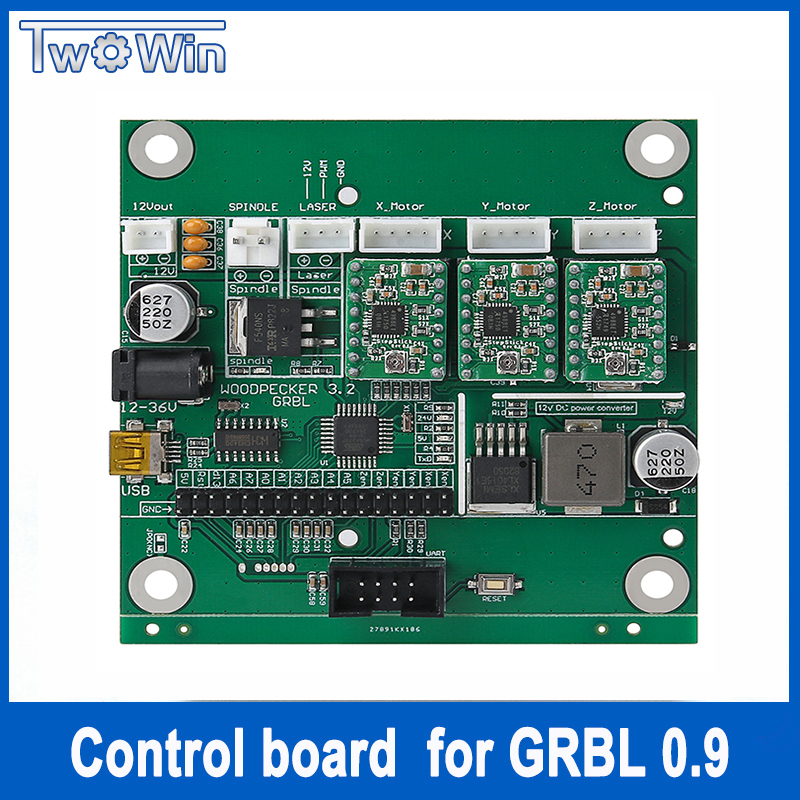 GRBL 0.9J,USB port cnc engraving machine control board, 3 axis control,laser engraving machine board electronic blocks diy cnc laser engraving machine control board 3 axis grbl toy parts