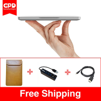 New Original GPD Pocket 7 Inch Aluminum Shell Mini Laptop UMPC Windows 10 System CPU X7
