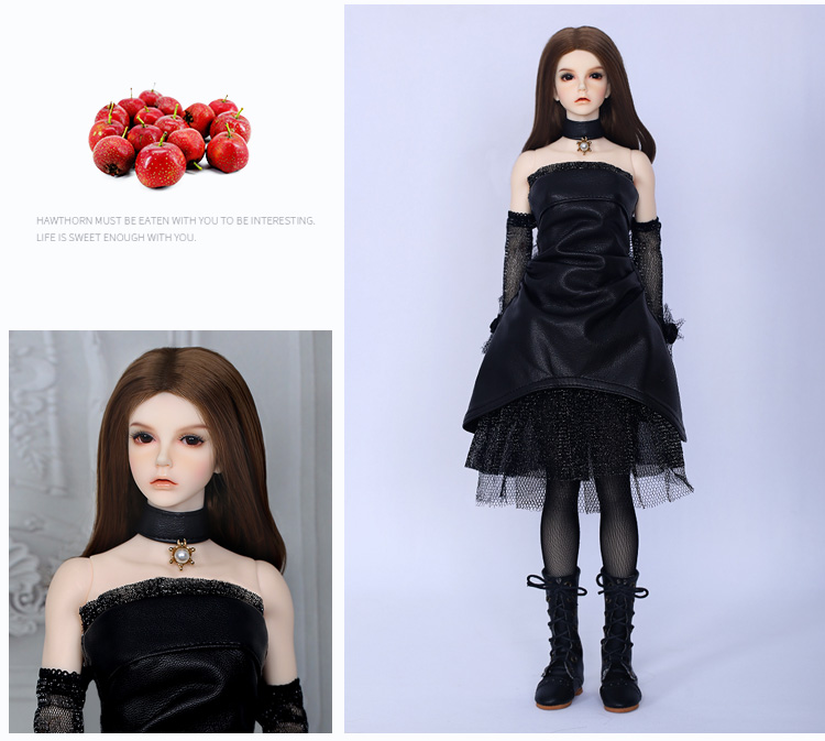 New Black Shoes For 1//4 BJD Doll SD Doll  WX4-36