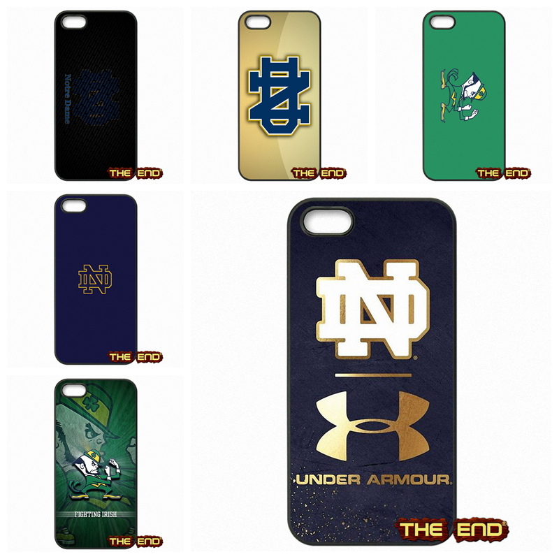 buy online 19852 07039 Notre Dame Fighting Irish Logo Cell Phone Case For iPhone X 4 4S 5 ...