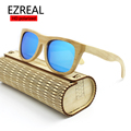 2017 men or women polarized Bamboo Wooden Sunglasses Brand Designer Mirror Original Goggles feminino oculos de sol masculino