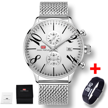 New Watch Casual Brand Waterproof Quartz Watch Men Military Stainless Steel Sports Watches Man Clock Simple Relogio Masculino