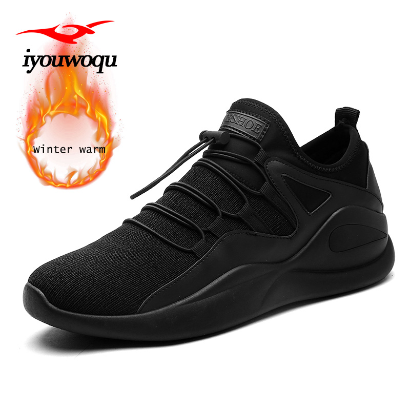2018 New Arrivals Winter running shoes for men Keep warm ...