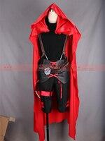 RWBY red rose cosplay costume Halloween Cosplay Uniform dress free shipping custom made sex reversion