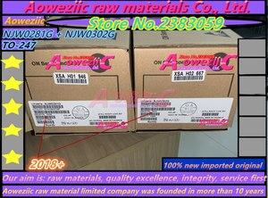 Image 4 - Aoweziic 2019+ 20 PCS = 10pair 100% new imported original NJW0281G  NJW0302G NJW0281G NJW0281 NJW0302 TO 247 Audio matching tube