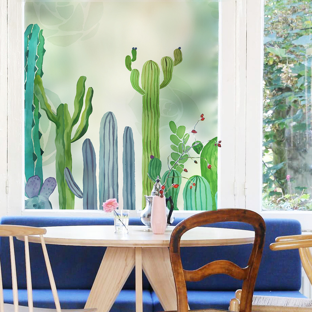 cactus-frosted-glass-window-film