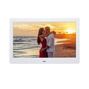 """Image 5 - 10.1 """"HD dijital fotoğraf çerçevesi çok medya oynatıcı MP3 MP4 çalar saat hediye için"""