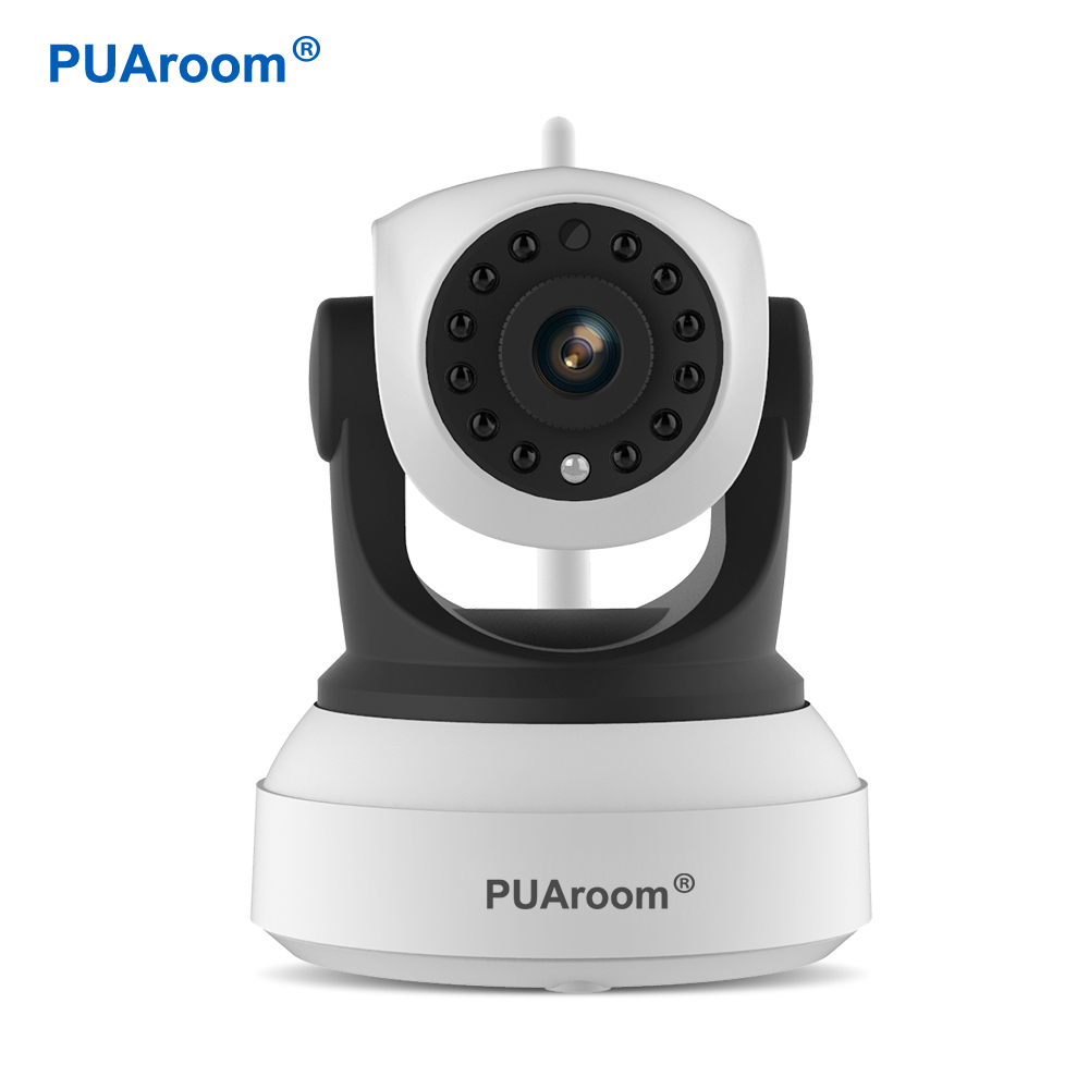 PUAroom HD Wi-fi Video Surveillance Night Security Camera Network Indoor Ip Camera Wireless