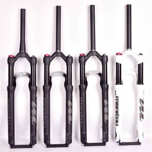 Widelec rowerowy Manitou maczeta Comp Marvel 27.5 29er rozmiar widły powietrzne Mountain MTB widelec zawieszenie widelec olejowy i gazowy SR SUNTOUR