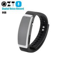 Rechargeable Voice Recorder Wrist Watches Audio Recorder Bracelet Watch Dictaphone Professional Digital MP3 Noise Reduction