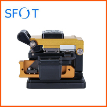 High Quality FTTH Fusion Splicer Tool Fiber Optic Cleaver Orientek T30C with bin for Optical Cable Cut