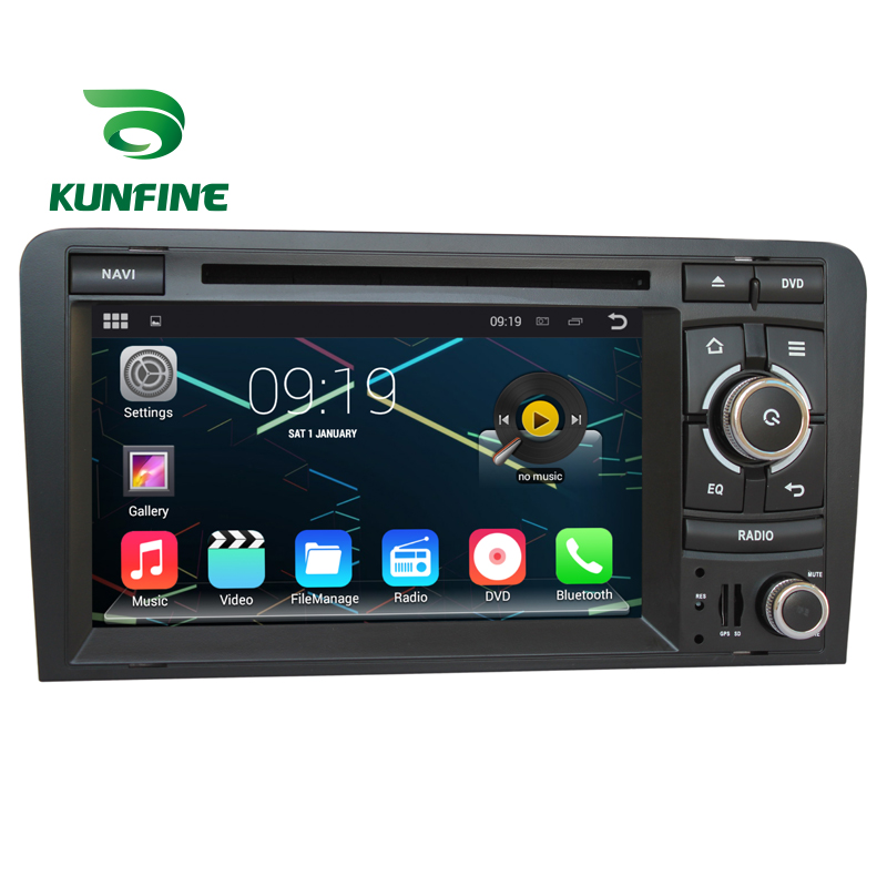 7 1024 600 Quad Core Car Stereo multimedia For Audi A3 2 Din Android Car GPS