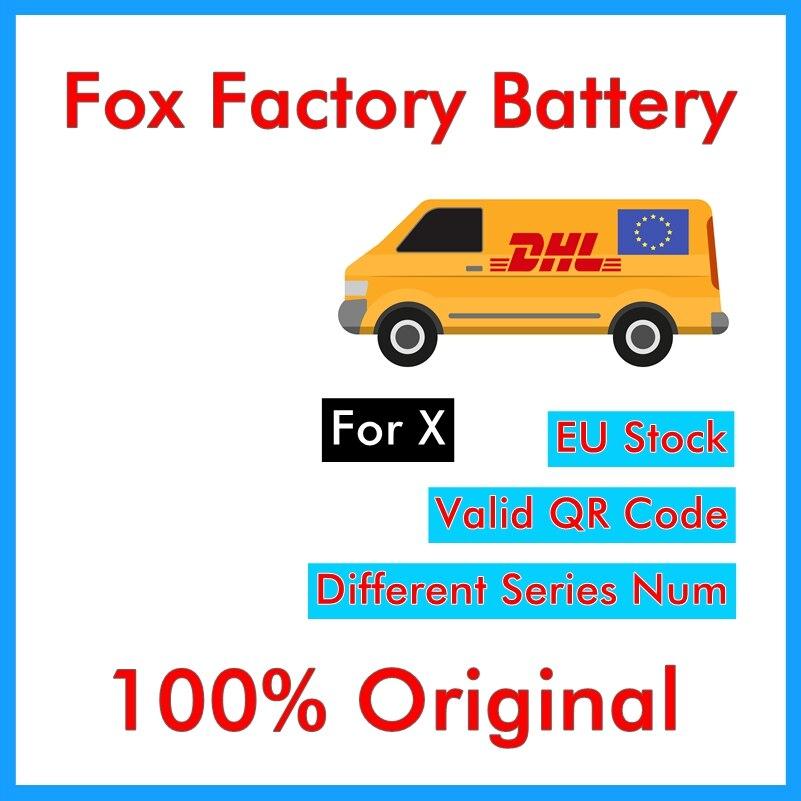 BMT 5 pcs Foxc Fábrica Bateria Original para o iphone X 0 zero ciclo 2716 mAh 3.85 V substituição de peças de reparo BMTIXFFB