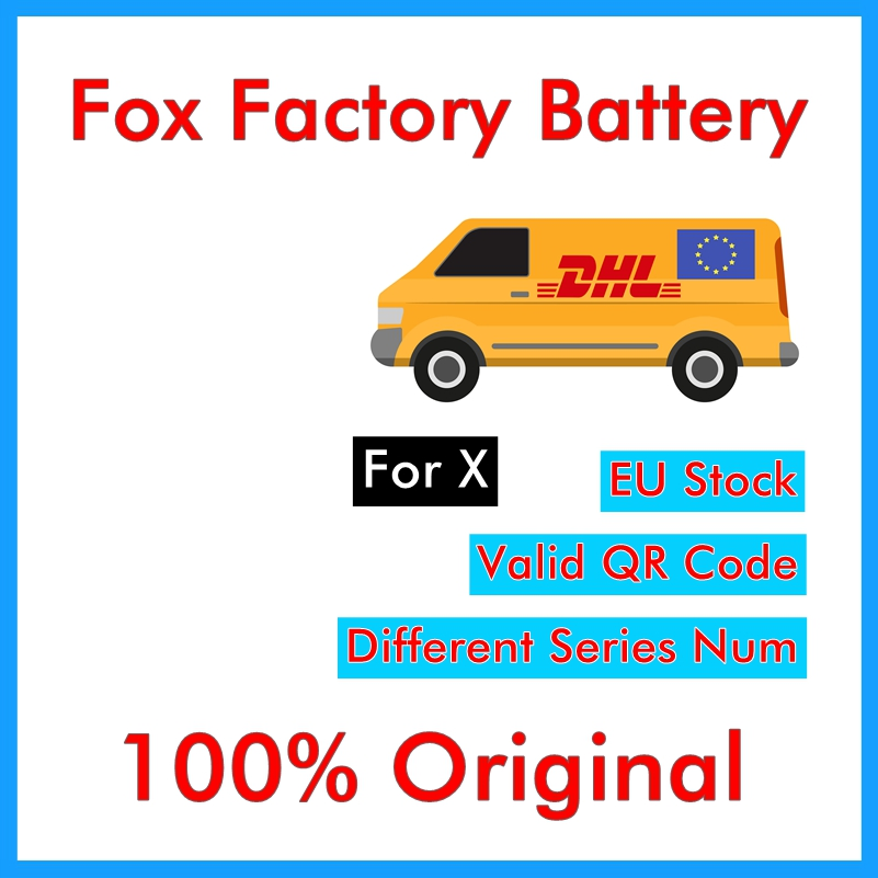 BMT  Original 5pcs Foxc Factory Battery for iPhone X 0 zero cycle 2716mAh 3.85V replacement repair parts BMTIXFFB