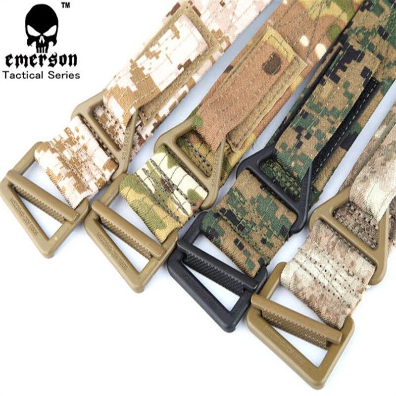 Dedito Cqb Rappel Tactical Belt Uomo Airsoft Paintball Sport Esercito Militare Cintura Em5601 Paintball Accessori Multicam
