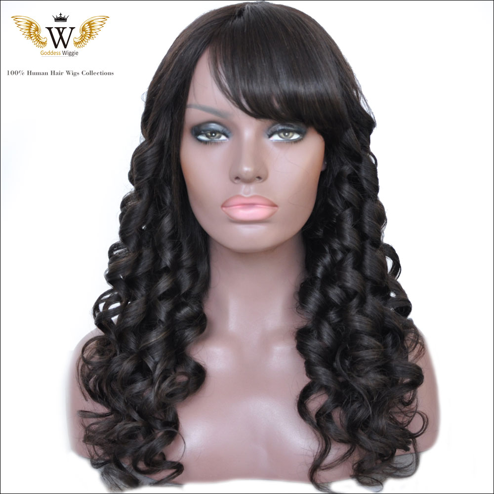 To acquire Deep brazilian wave hair with bangs picture trends