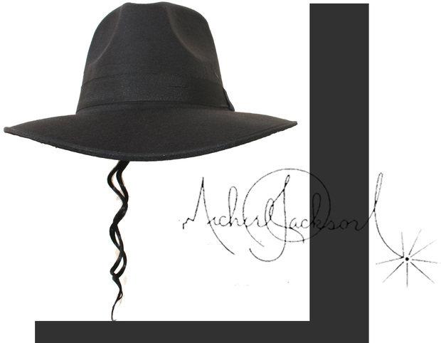 9f0832f40d5 Online Shop MJ Michael Jackson Black Formal hat Performance props ...