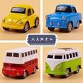 2016 новая бесплатная доставка мини сплава коуниверсален автомобили металл игрушка для детей автомобиля и автобус комплект детей день рождения детский день подарок 4 шт./лот