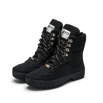 Tactical shoes soldier boots botas free soldier tactical boots breathable Outdoor sports high camouflage hiking shoes
