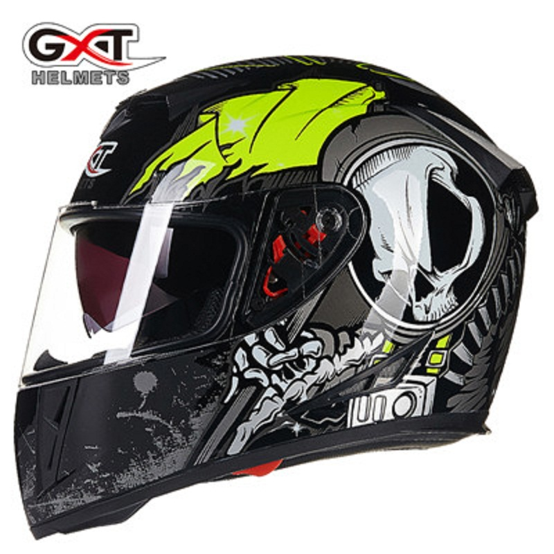 Motorcycle Helmets GXT 358 Full Face caps Men Helmet Motocross Racing Protective Casco Moto Street Capacete Motorcycle helmet