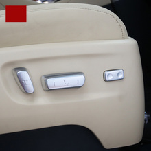 lsrtw2017 abs car seat adjust panel trims for toyota alphard vellfire 2015 2016 2017 2018 2019 2020