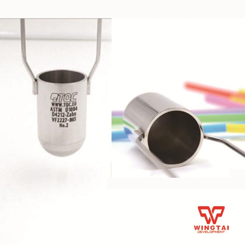 TQC Viscosity Cup  VF2227 Immersion Stainless Steel Zahn Cup ASTM D 1084,ASTM D4212 kupo vf 01