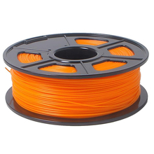 3D Printer Filament 1kg/2.2lb 1.75mm PLA Plastic for RepRap Mendel Orange