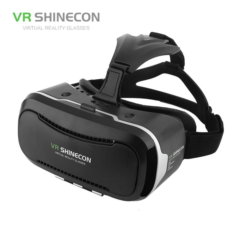 3D VR Glasses Virtual Reality Headset 3D Cardboard Glasses VR Casque Virtual Box 3D Box For 3.5-6 Mobile Phone VR Shinecon 2.0