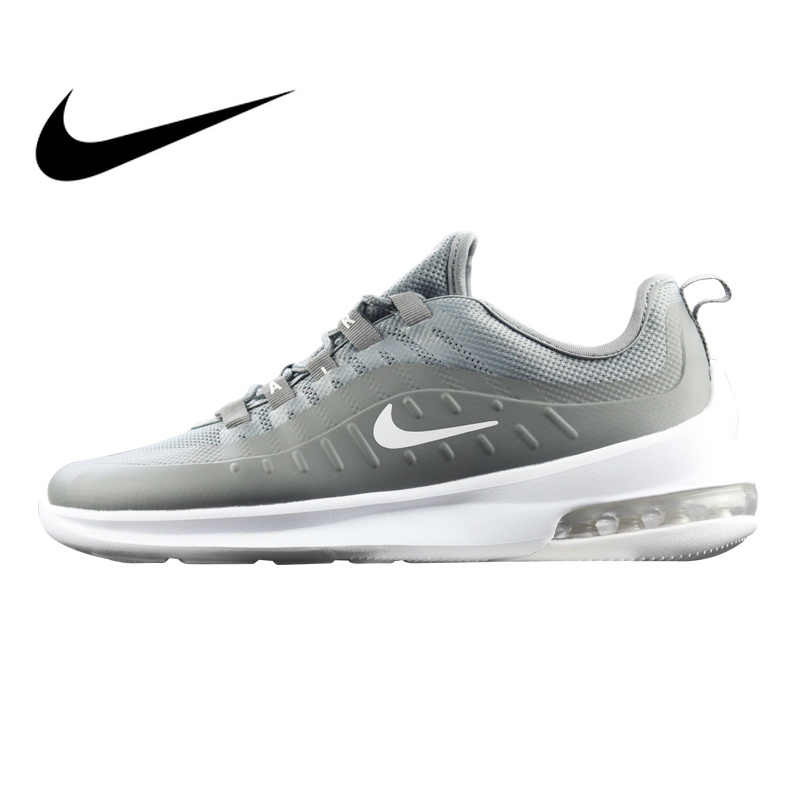 a1ec67bed18bd1 Original Authentic Nike Air Max Axis Men s Running Shoes Grey Black Shock  Absorbing Wear Resistant