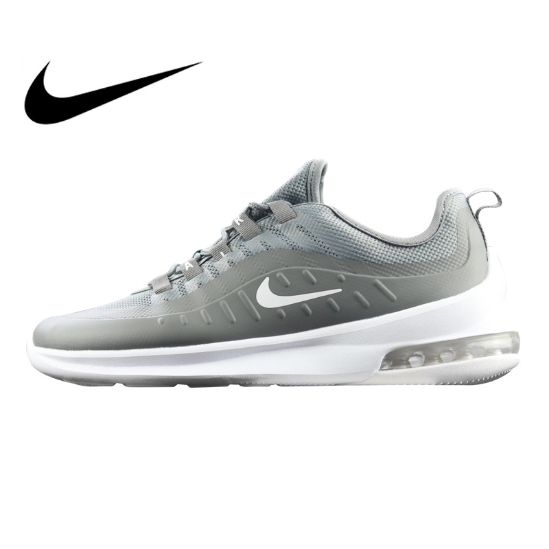 63a37ec733cc21 Original Authentic Nike Air Max Axis Men s Running Shoes Grey Black Shock  Absorbing Wear Resistant Lightweight AA2146 Breathable-in Running Shoes  from ...
