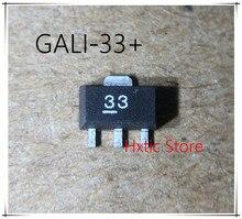 10PCS GALI-33 GALI-33+ GALI33 MARKING 33 SOT-89  IC