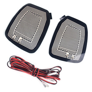 Image 1 - Automobile Heated Mirror Pads Defroster Elements Quick Warm Demister Universal DC 12V