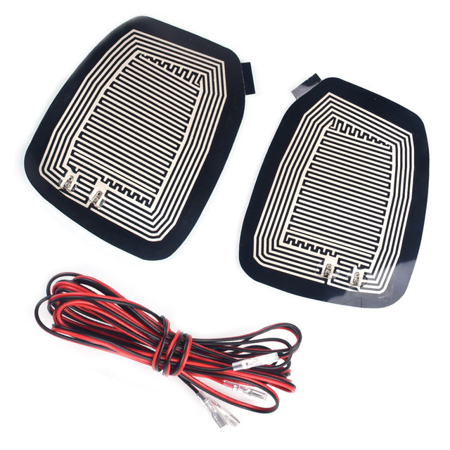 Automobile Heated Mirror Pads Defroster Elements Quick Warm Demister Universal DC 12V