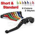 CNC Long&Short Adjuster Brake Clutch Levers For Suzuki GSXR 1000 600 750 GSR 750 600 DL650/V-STROM TL1000S SFV650 GLADIUS D10