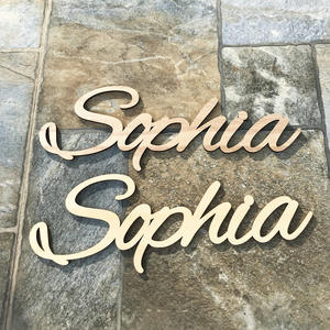 Table-Decor Sign Wooden Letters Custom-Name Nursery-Pesonalized Wedding