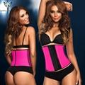 Bainha emagrecimento barriga cintura látex trainer fajas shapewear body shapers cintas cinto fino para as mulheres butt perda de peso colete corset
