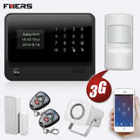 FUERS 2019 NEUE WIFI GSM 3G G90B Wireless Home Security Alarm System IOS Android APP Steuer Hause Einbrecher Sicherheit
