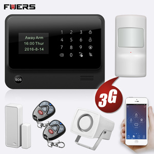 Image 2 - FUERS 2019 NEW WIFI GSM 3G G90B Wireless Home Security Alarm System IOS Android APP Control Home Burglar Security