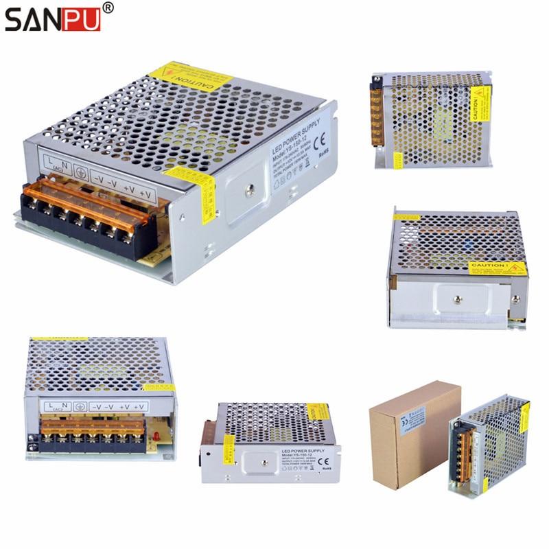 SMPS LED Dirvers 12V 20A 250W Voltage Switching Power Supplies 220V 230V AC-DC Light Tra ...