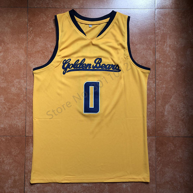 the latest 68f69 cd646 Vintage #0 Jaylen Brown California Golden Bears Throwback College  basketball jersey Top Quality -in Basketball Jerseys from Sports &  Entertainment on ...