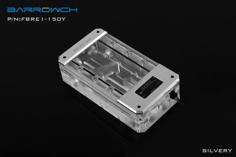 Barrowch FBRE1-Y, réservoirs de BoxFish, LRC 2.0, réservoirs numériques intelligents d'espace acrylique, température en temps réel