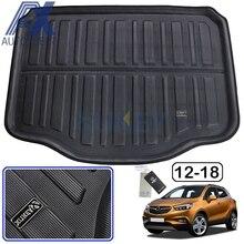 AX dla Buick Encore Opel Vauxhall Mokka X 2013 2014 2015  2018 tylna mata do bagażnika bagażnika mata wykładzinowa podkładka podłogowa zabezpieczenie do dywanu Pad