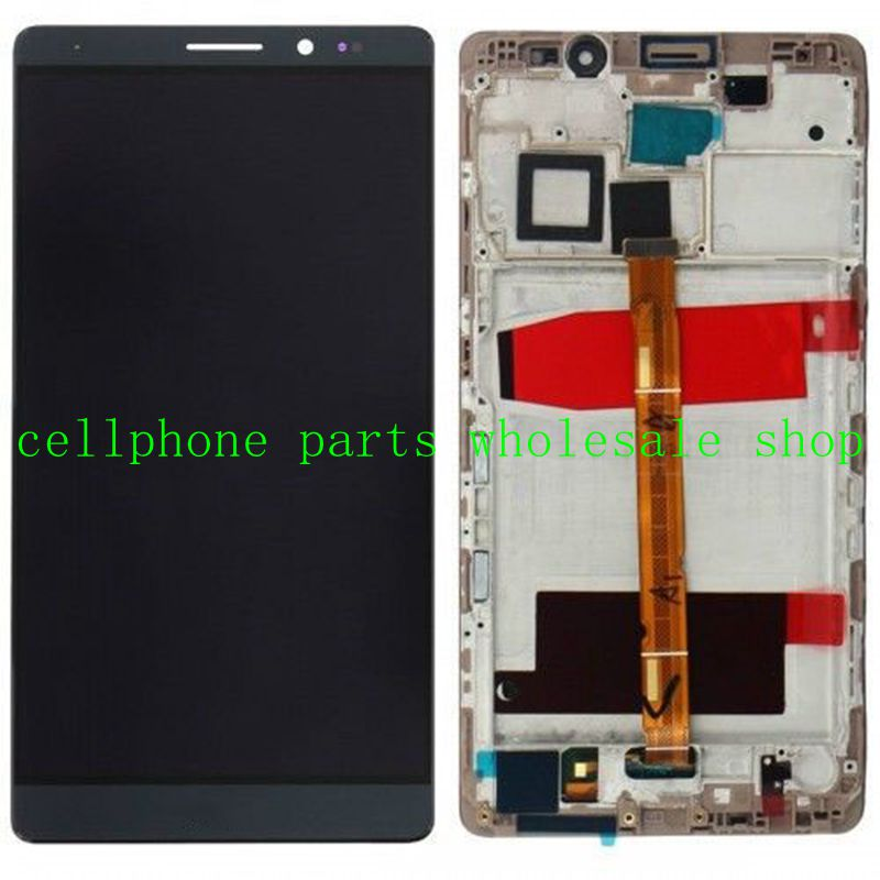 Lcd display screen+Touch Glass Digitizer+frame assembly for huawei Ascend NXT-AL10 L09 Mate 8 mate8 white /gold free shipping  цены