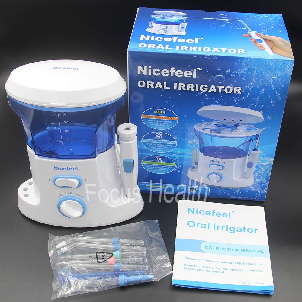 7 Tips 600ml Oral Irrigator Water Jet Flosser Dental Spa Tooth ...