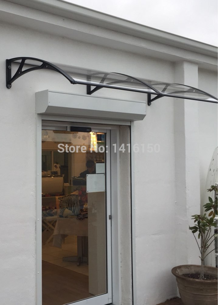 Ds100240 P 100x240cm Polycarbonate Awning Door Canopy