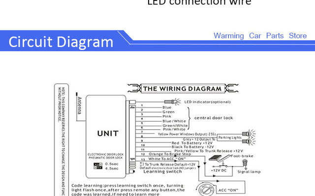 online shop hlest universal new upgrade car alarm system remote rh m aliexpress com