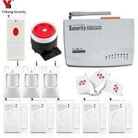 Yobang Senza Fili di Sicurezza Domestica di GSM di Allarme Porta wireless sensore magnetico di Alta qualità nuova Casa Antifurto Sistemi di Allarme gsm alarma