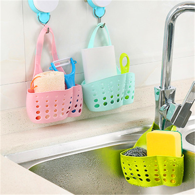 Portable Home Kitchen Hanging Drainage Bag Shopping Basket Bathtub ...