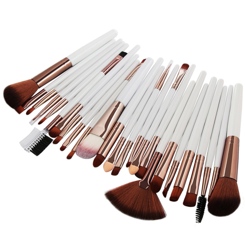 MAANGE 25 Pcs Makeup Brush Kits Face Foundation Power Blush Eyebrow Lips Make Up Brushes Set pincel maquiagem zoreya 18pcs makeup brushes professional make up brushes kits cosmetic brush set powder blush foundation eyebrow brush maquiagem